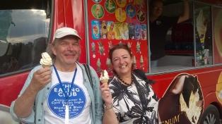 Robert Hokum and Wendy Auld, Ealing Blues Festival 2018